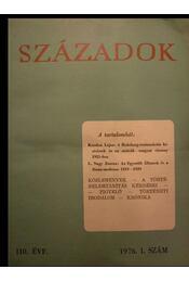 Századok 1976. I-VI. szám - Régikönyvek