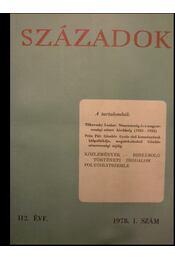 Századok 1978. I-VI. szám - Régikönyvek