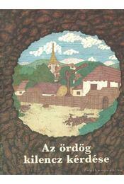 Az ördög kilencz kérdése - Szabó Ernő - Régikönyvek