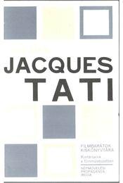 Jacques Tati (dedikált) - Szalay Károly - Régikönyvek