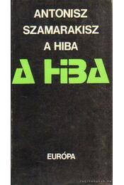 A hiba - Szamarakisz, Antonisz - Régikönyvek