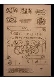 A székely rovásírás eredete - Régikönyvek