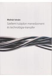 Szellemi tulajdon menedzsment és technológia-transzfer - Régikönyvek