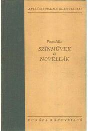 Pirandello - Színművek és novellák - Régikönyvek