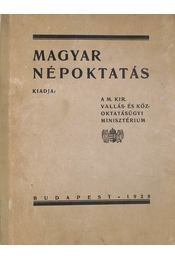 Magyar népoktatás - Régikönyvek