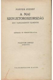 A mai Szovjetoroszország - Régikönyvek