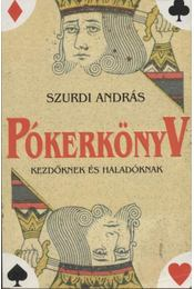 Pókerkönyv - Szurdi András - Régikönyvek