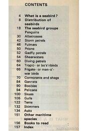 Seabirds (Tengerimadarak) - Régikönyvek