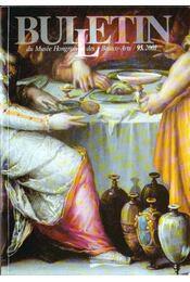 Bulletin du Musée Hongrois des Beaux-Arts 95. - Tátrai Vilmos - Régikönyvek
