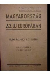 Magyarország az új Európában - Régikönyvek