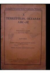 A térképírás, olvasás ABC-je - Régikönyvek