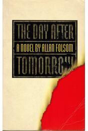 The Day After Tomorrow - Folsom, Allan - Régikönyvek