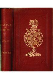 The Principles of Ethics Vol. II - Régikönyvek