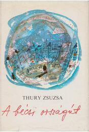 A bécsi országút - Thury Zsuzsa - Régikönyvek