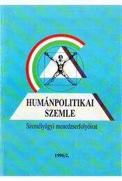 Humánpolitikai szemle 1996/2. - Több szerző - Régikönyvek