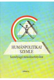 Humánpolitikai szemle 1994/11. - Több szerző - Régikönyvek