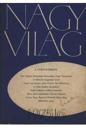 Nagyvilág 1975/6. - Több szerző - Régikönyvek