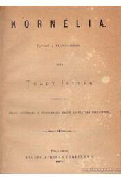 Kornélia - Toldy István - Régikönyvek