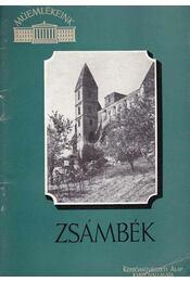 Zsámbék - Tombor Ilona - Régikönyvek