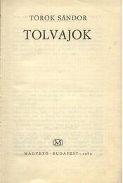 Tolvajok - Török Sándor - Régikönyvek