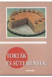 Torták és sütemények - Régikönyvek