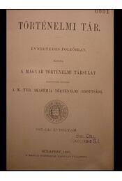 Történelmi Tár - Régikönyvek