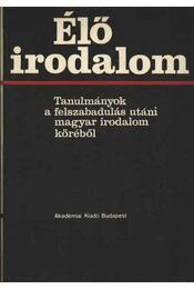 Élő irodalom - Tóth Dezső - Régikönyvek