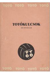 Totókulcsok - Régikönyvek