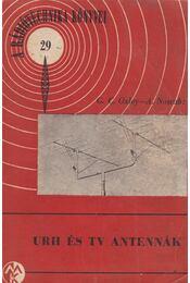 URH és TV antennák - Régikönyvek