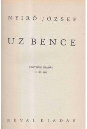 Uz Bence - Régikönyvek