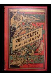Vörösmarty összes költői művei II. kötet - Régikönyvek