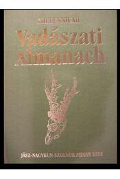 Jász-Nagykun-Szolnok Megyei Vadászati Almanach - Régikönyvek