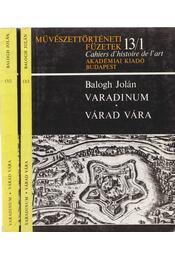Varadinum - Várad vára I-II. kötet - Régikönyvek