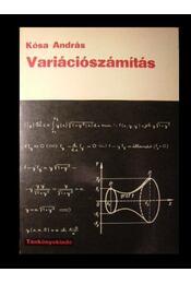 Variációszámítás - Régikönyvek