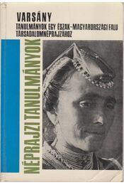 Varsány - Régikönyvek