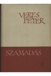 Számadás - Veres Péter - Régikönyvek