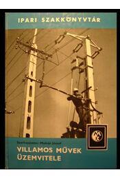 Villamos művek üzemvitele - Régikönyvek