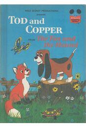 Toddler and Copper - Walt Disney - Régikönyvek