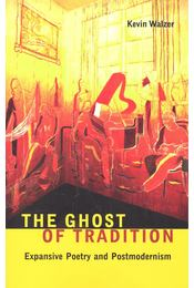 The Ghost of Tradition – Expansive Poetry and Postmodernism - WALZER, KEVIN - Régikönyvek