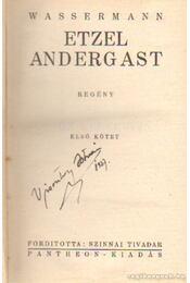 Etzel Andergast I-II. kötet - Wassermann - Régikönyvek