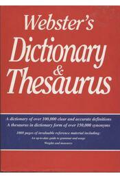Webster's Dictionary & Thesaurus - Régikönyvek