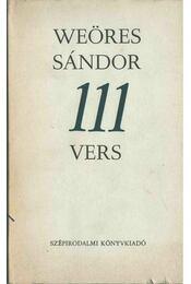 111 vers - Weöres Sándor - Régikönyvek