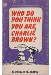 Who do you think you are, Charlie Brown? - Régikönyvek