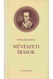 Művészeti írások - Winckelmann - Régikönyvek