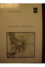 Zalabér története - Régikönyvek