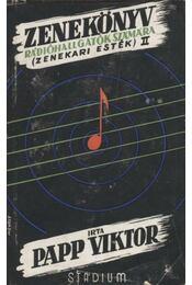 Zenekönyv zenehallgatók számára II. - Régikönyvek