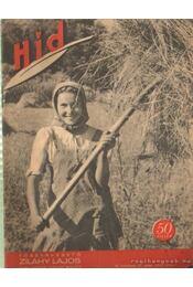 Híd III. évfolyam 23. szám 1942 július 1 - Zilahy Lajos - Régikönyvek