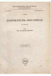 Zsizsikfélék - Bruchidae - Régikönyvek